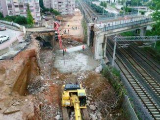 new subway work started on the development tram line