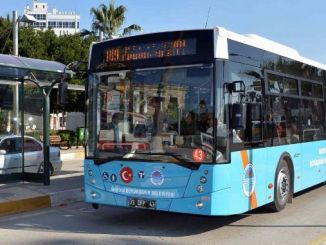 mersin buyuksehir new bus will get the tasinc aydincik line will be urgent