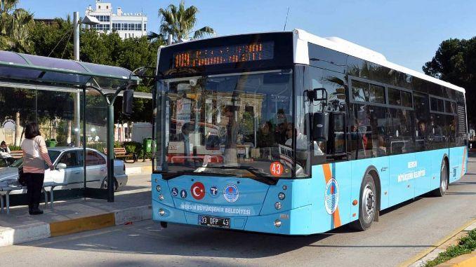 mersin buyuksehir new bus will get the tasinc aydincik line will be urgent