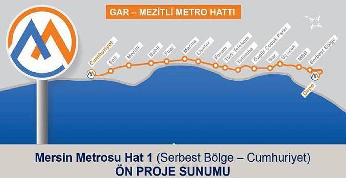 mersin metro map