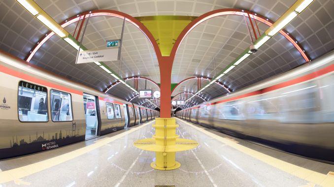One of the biggest enterprises Istanbul subway turkiyenin