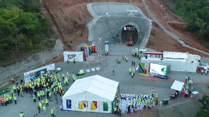 morogoro makutupora railway project to perform tunnel ceremony