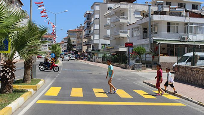 first pedestrian project comes to life in finik