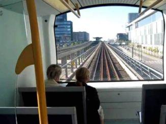 sistemas de sinalización e subterráneo sen condutor