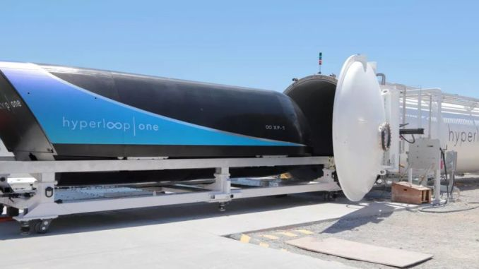 Saudi Arabia agreed for hyperloop train