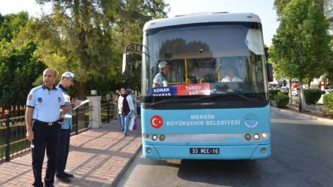 airconditioning and security camera control in public transport vehicles in tarsus