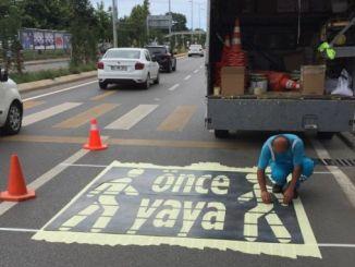 Fußgängerblicklinie
