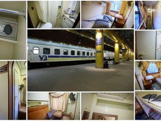 ukraine railways vip wagon starts the journey