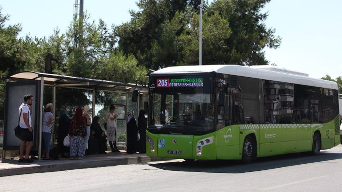 ulasimpark buses transported passengers as big as the population in a month