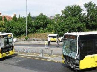 Accidente metrobus herido en uskudarda