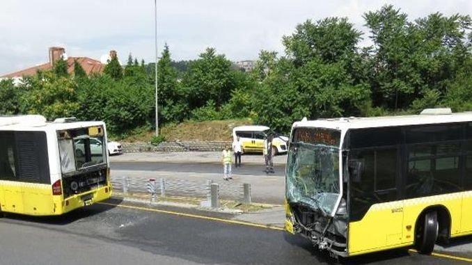accidente metrobús ferido en uskudarda