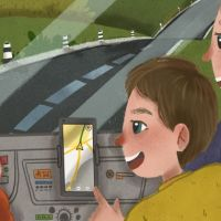 A delightful storybook from Yandex to make children love maps