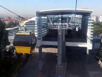 yenimahalle sentepe cable car line maintenance at two stations