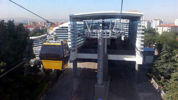 yenimahalle sentepe кабелна линия поддръжка на две станции