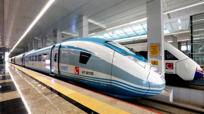 times of the high-speed train line change