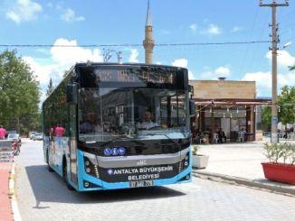 Antalya Metropolitan przetransportował tysiące ludzi na płaskowyż