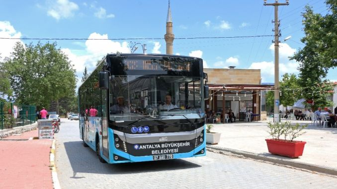 Antalya Metropolitan Transported Thousand People to the Plateau