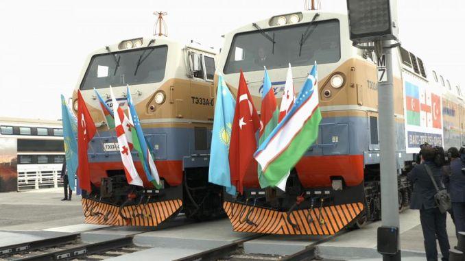 Baku Tbilisi Kars jernbanelinje
