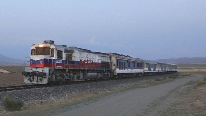 ankara tehran train starts again