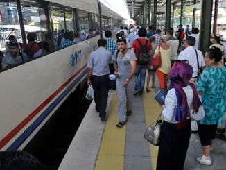 million citizens chose to travel by train