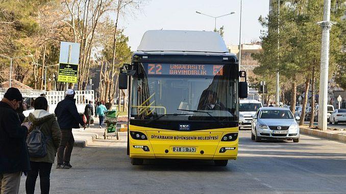 diyarbakirda mass transport holiday