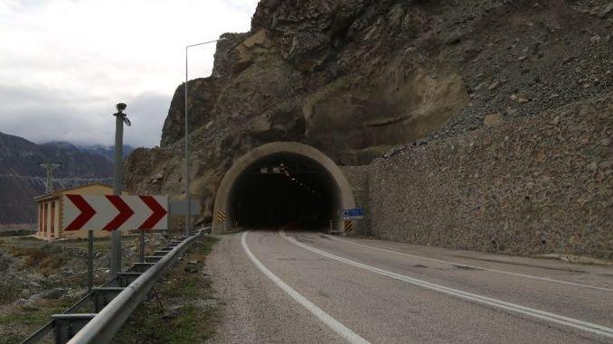 dsi artvinde km highway km tunnel na binuo