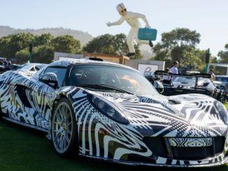 verdens mest luksuriøse og sjældne biler mødtes i vagtlen