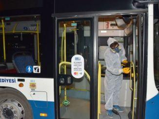 bundkose-rengøring på egobusser
