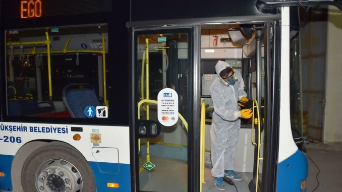 bottom kose cleaning on ego buses