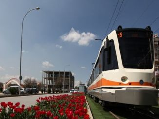 gaziantepte bus tram and parkomat feast free of charge