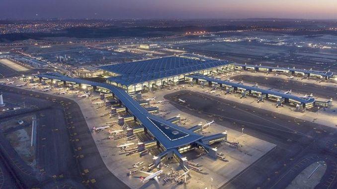Аэрапорт Стамбула эканоміў на працэнтах паліва
