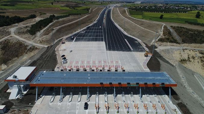 istanbul izmir motorway opening fees were clear
