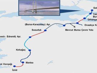 מפת הכבישים של איזנבול איזמיר