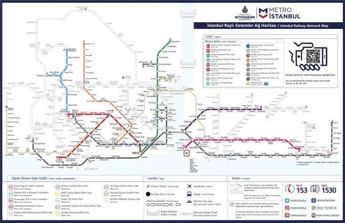 İstanbul Metro ve Metrobüs Hatları Metrobüs Durakları Metro Durak İsimleri
