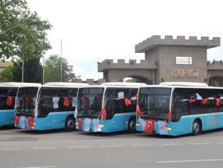 Kahramanmaras busstjänst för bussbyte startade
