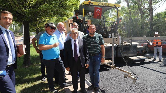 renewing roads in kayseride