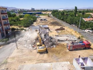 alternative road works for malatya traffic continues