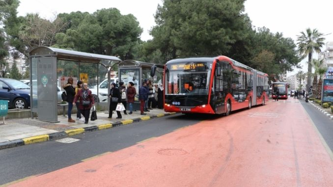 Manisada Electric and Red Buses