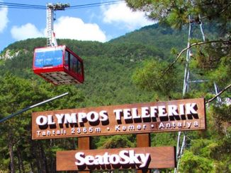 olympos cable car runs to record