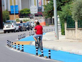 fietspaden in Sakarya zijn gemaakt volgens normen