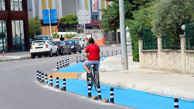 cykelstier i sakarya er lavet til standarder