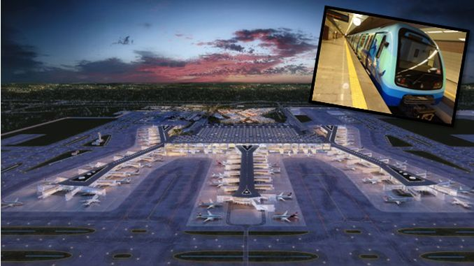 senbay istanbul airport withdrew from metro construction