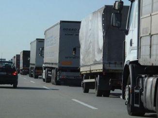 Die Frachtunternehmen in der Ukraine haben den Güterverkehr ausgeweitet
