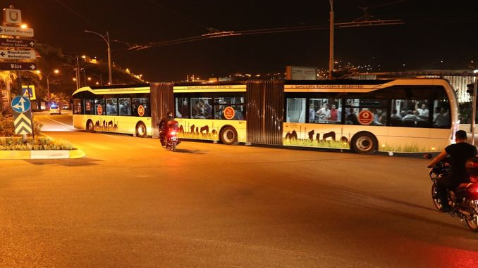 ang trambus test drive nagsugod sa anlıurfada