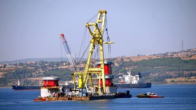 canakkale bridge continues to rise