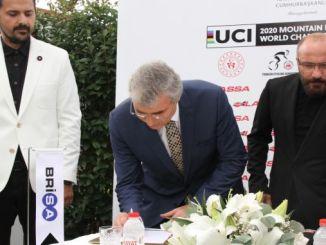 lassa apoio para o campionato mundial de ciclismo de montaña