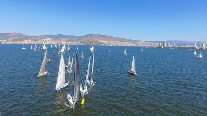 izmir korfez festival started with sailing races