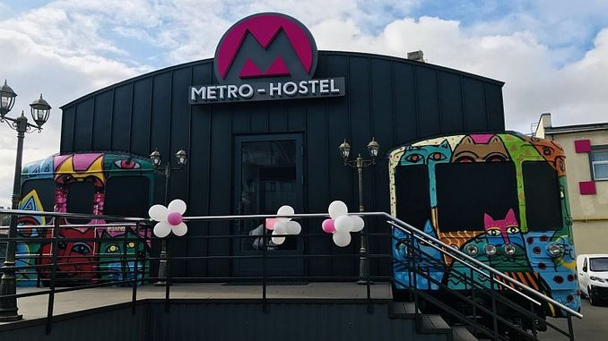 Metro Hostel Opens in Podol District of Kiev