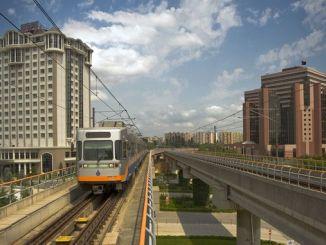 Aerodrom u podzemnoj željeznici podzemne željeznice Yenikapı Atatürk