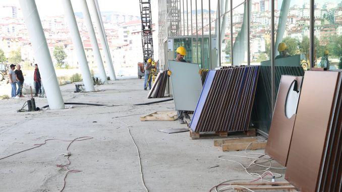 altinordu sehirlerarasi otobus terminal binasinda calismalar basladi
